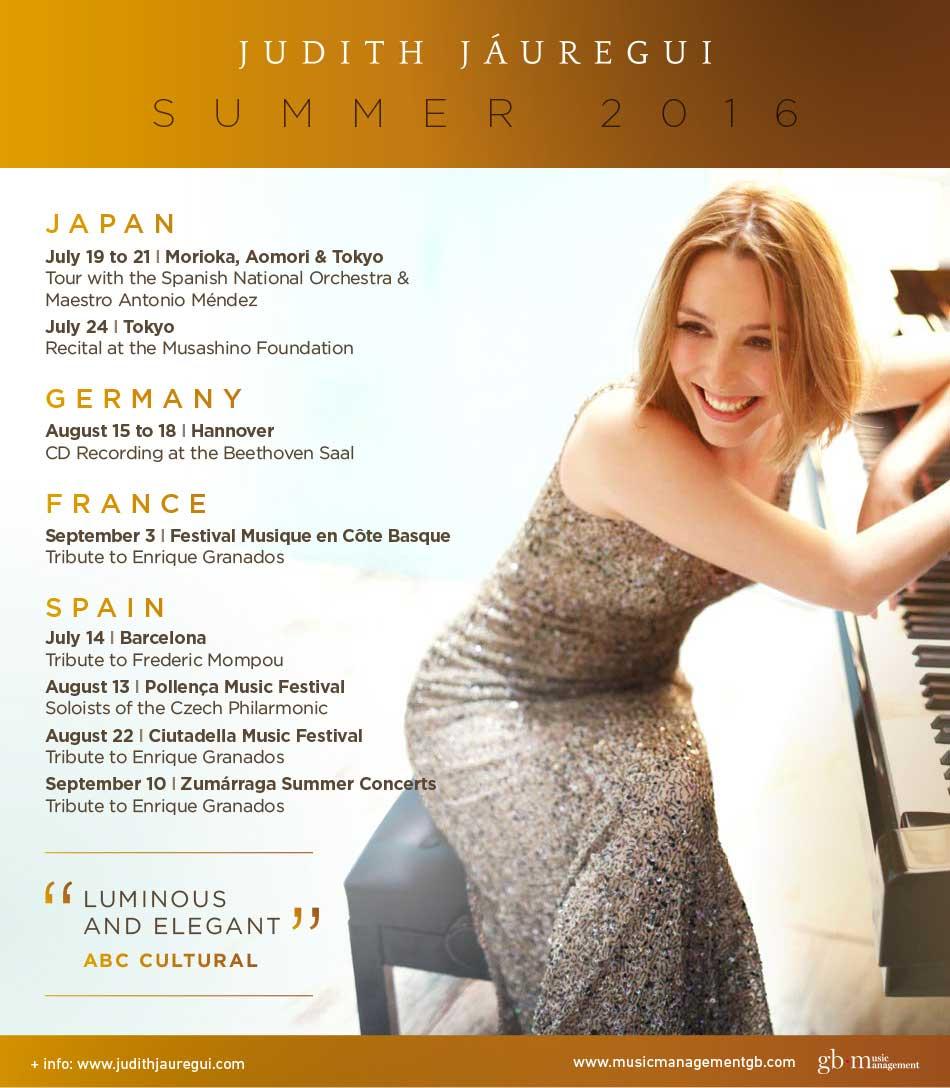 Judith Jaurégui sur la route des festivals d'été