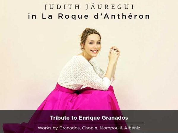 Judith Jáuregui le mardi 9 août à 18h au Temple de Lourmarin