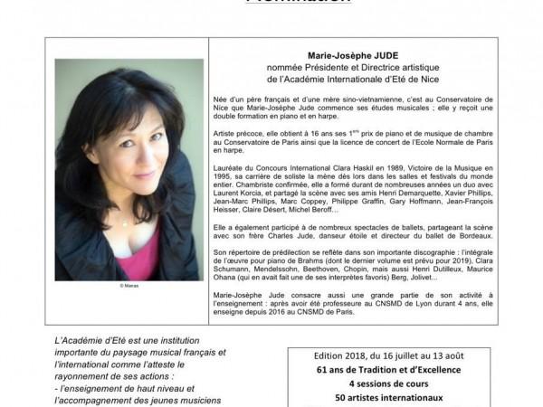Marie-Josèphe Jude nommée Présidente de l'AIEN