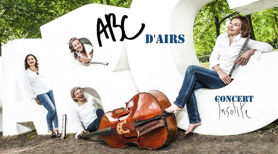 ABCd'airs au Théâtre le Lucernaire à partir du 9 mai
