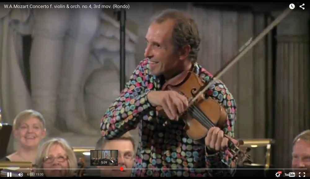 Gilles Apap avec Le Nordic Chamber Orchestra