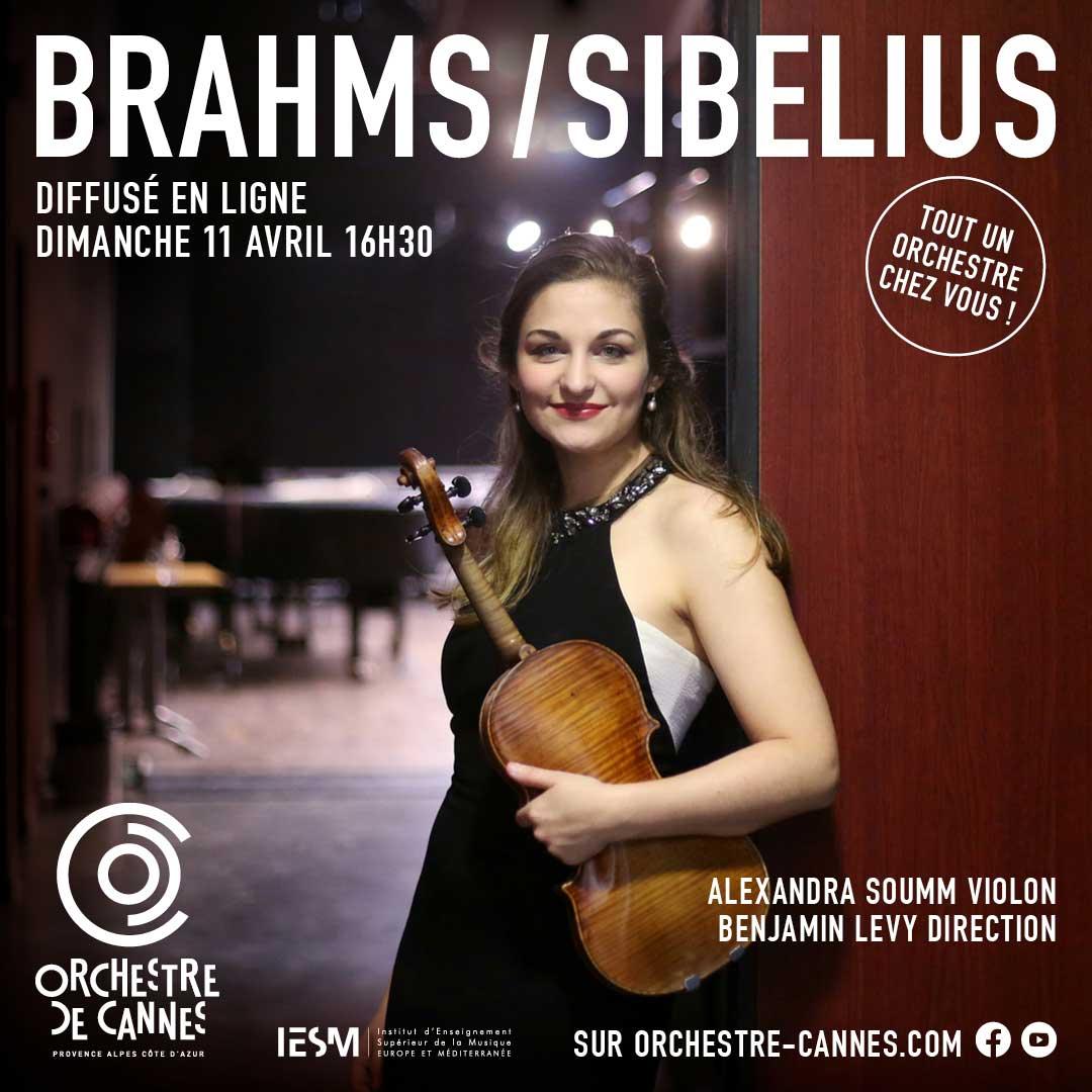 Alexandra Soumm et l'Orchestre de Cannes