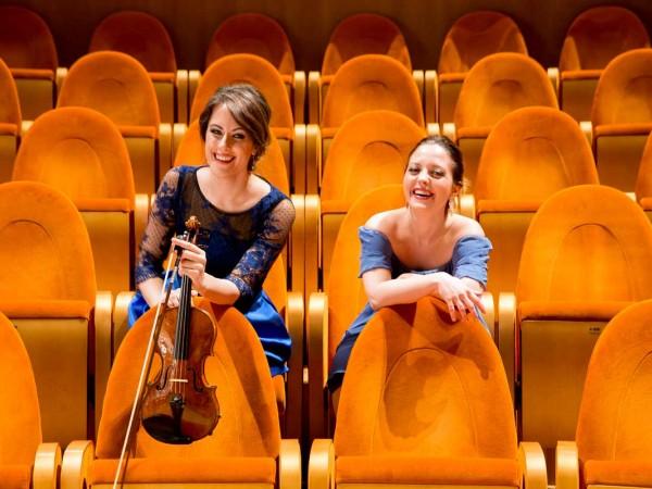 Francesca Dego et Francesca Leonardi à...